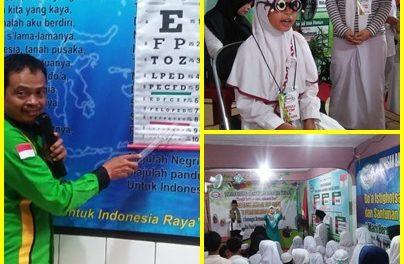 Santunan Bulanan dan Cek kesehatan mata yabangkit
